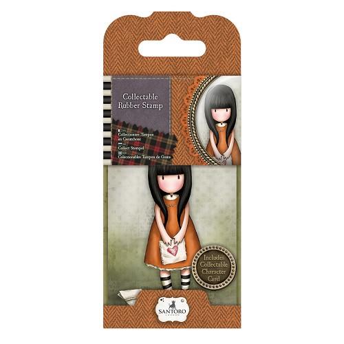 Mini Rubber Stamp - Santoro - No. 9 I Gave You My Heart