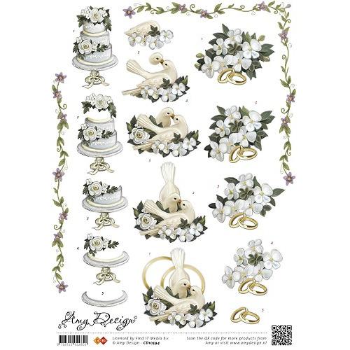 3D Knipvel - Amy Design - Marriage