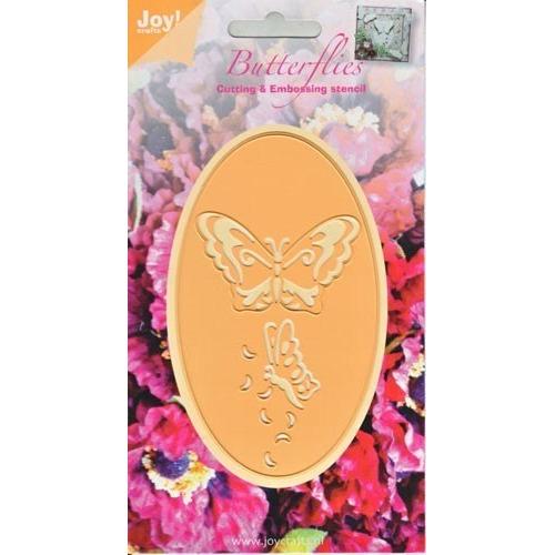6002/0275 Stencil vlinders