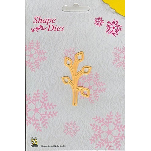 Nellie Snellen Shape Die Single Leaf Branch (SD009)