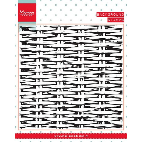 Marianne Design - Clearstamp - Background Wicker