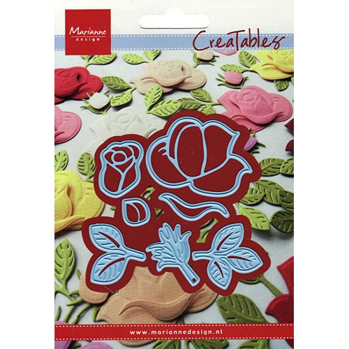 Marianne Design - Die - CreaTables - Build-a-rose