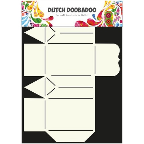 Dutch Doobadoo Dutch Box Art stencil kleine cadeau zak A4 470.713.016 (new 12-2015)