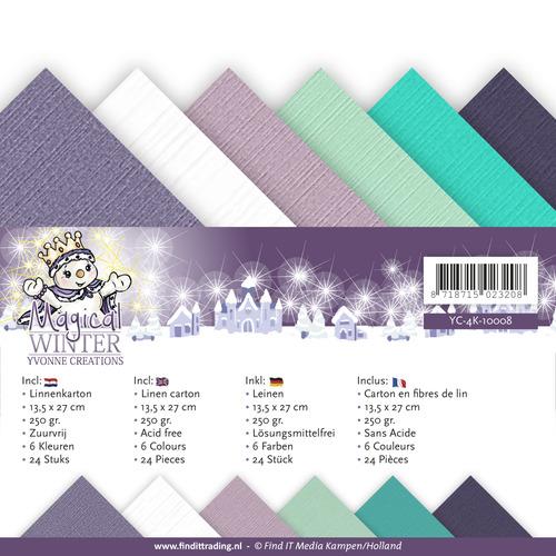 Linnenpakket - 4K - Yvonne Creations - Magical winter