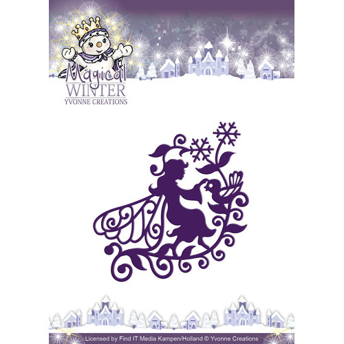 Die - Yvonne Creations - Magical winter - Fairy