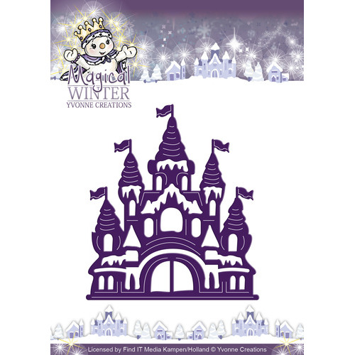 Die - Yvonne Creations - Magical winter - Castle