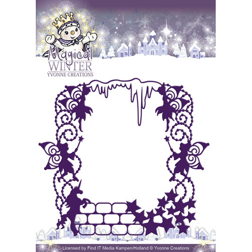 Die - Yvonne Creations - Magical winter - Magical Frame