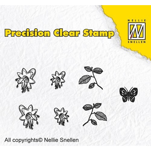 Precision clear stamps Nature bellflower