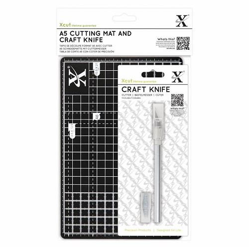 Xcut A5 Cutting Mat And Craft Knife (XCU 268436)