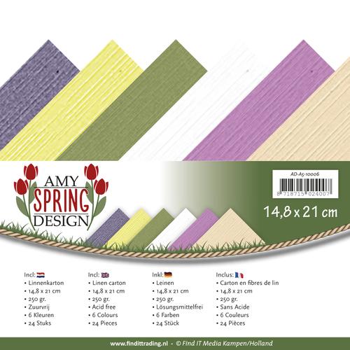 Linnenpakket - A5- Amy Design - Spring