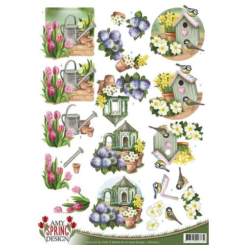 3D Knipvel - Amy Design - Spring - Garden