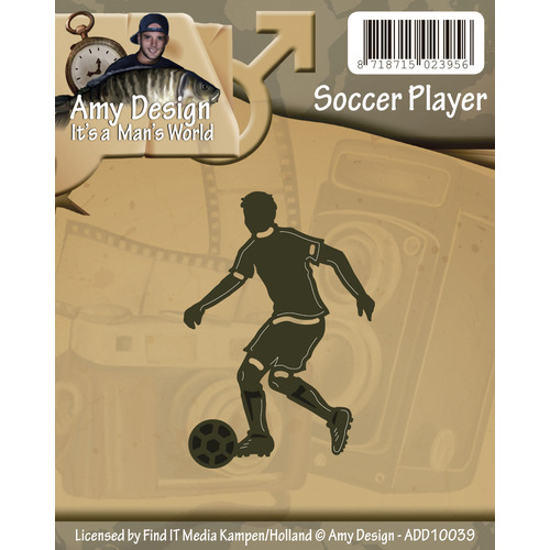 Die - Amy Design - Its a Mans World - Soccer player