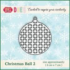 Christmas Dies Metal die Christmas Ball 2