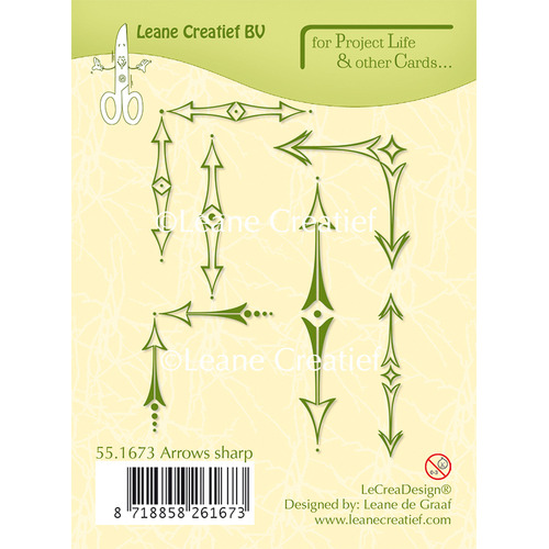 Project Life & Cards clear stamp Arrows sharp