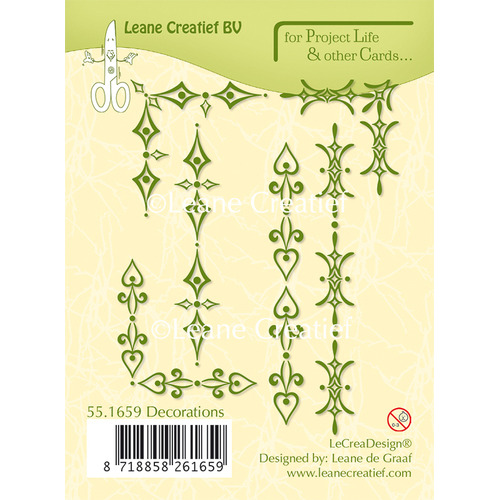 Project Life & Cards clear stamp Decorations