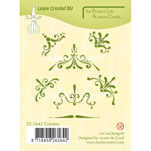 Project Life & Cards clear stamp Corners