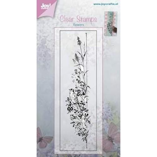 JOY!Crafts  stempel bloem met vogel