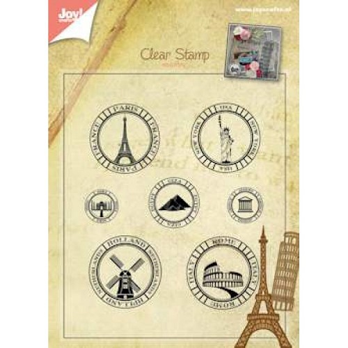 JOY!Crafts  stempel stedentrips