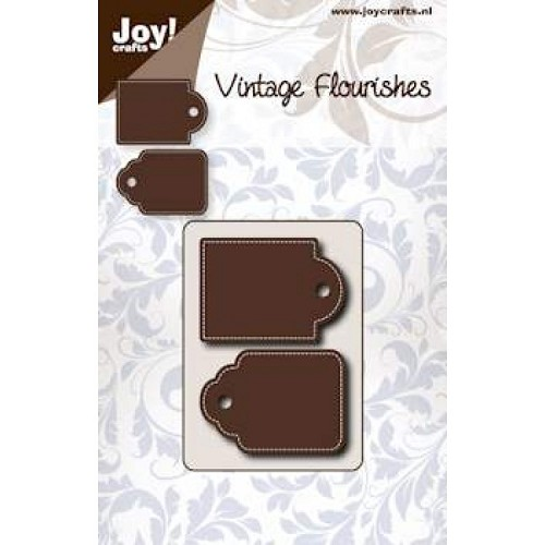 JOY!Crafts  stencil dubbele tag