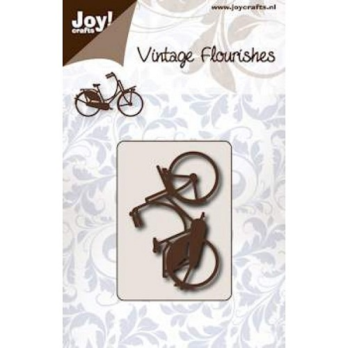 JOY!Crafts  stencil opoefiets