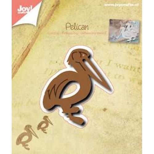 JOY!Crafts  stencil pelikaan