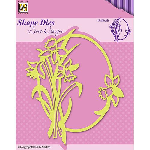 Shape Dies - Spring flowers Daffodils