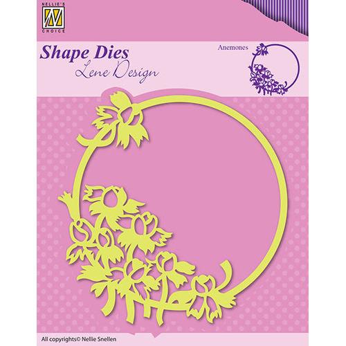 Shape Dies - Spring flowers Anemones
