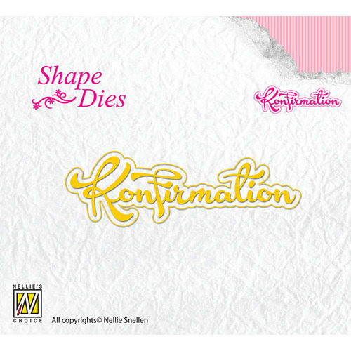Shape Dies - Text Korfirmation