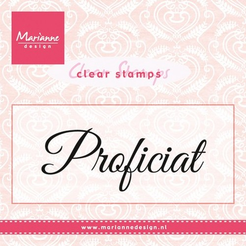 Marianne D Stempel Proficiat (NL) CS0957 (New 02-16)