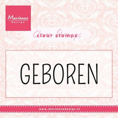 Marianne D Stempel Geboren (NL) CS0959(New 02-16)