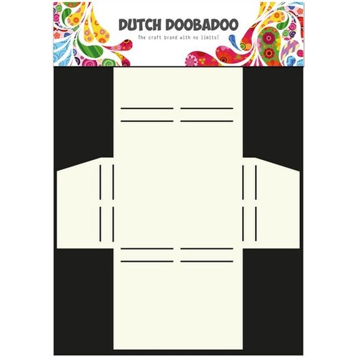Dutch Doobadoo Dutch Box Art stencil Merci A4 470.713.017 (new 01-2016)