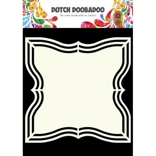Dutch Doobadoo Dutch Shape Art frames Square A5 470.713.128 (new 01-2016)