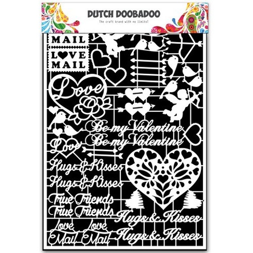 Dutch Doobadoo Dutch Paper Art Valentijn - A5 472.948.036 (new 01-2016)