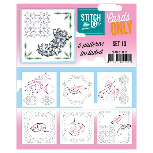 Stitch & Do - Cards only - Set 13