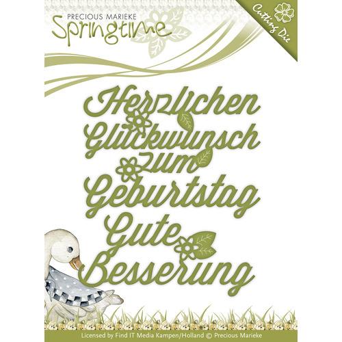 Die - Precious Marieke - Springtime - Wünsche