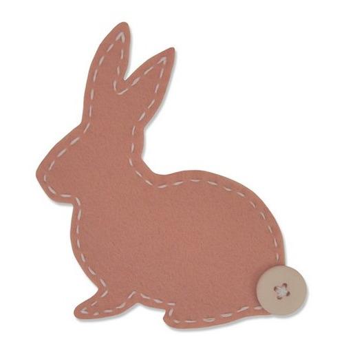 Sizzix Bigz Die - Lovable Bunny 661170 Samantha Barnett (01-16)