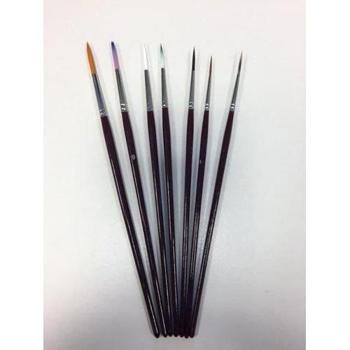 Penselenset nylon (7x liner) 7 ST 12185-1882