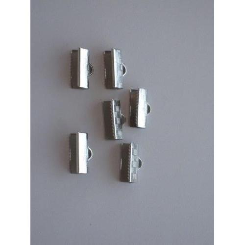 Koordsluiting klem met oog 6x12mm platinum 6 ST 12279-7901