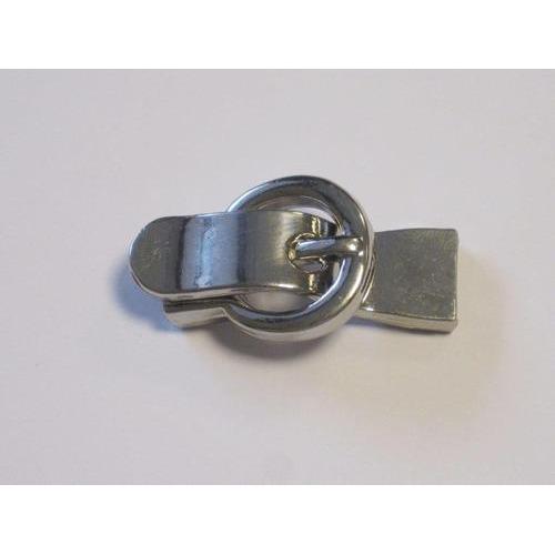 Magneetkoordsluiting plat platinum 13,5x41mm (gat 25x95mm) 1  12281-8103