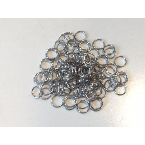 Key Rings 12mm platinum 100 ST polybag 12335-3501