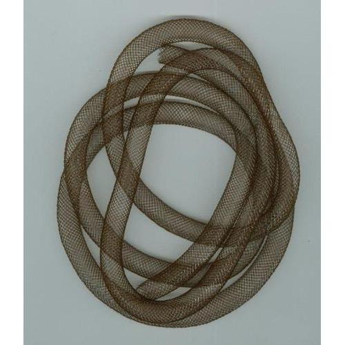 Fish Net Tubes 8mm donker bruin 1 MT 12298-9808