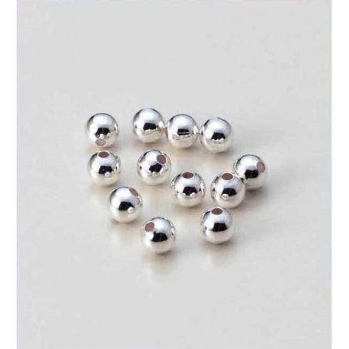 Metalen kralen 5MM platinum 22 ST 12166-6602