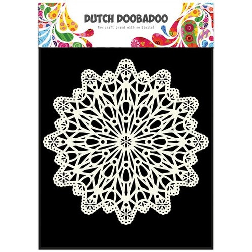 Dutch Doobadoo Dutch Mask Art stencil cirkel A5 470.715.504 (02-16)