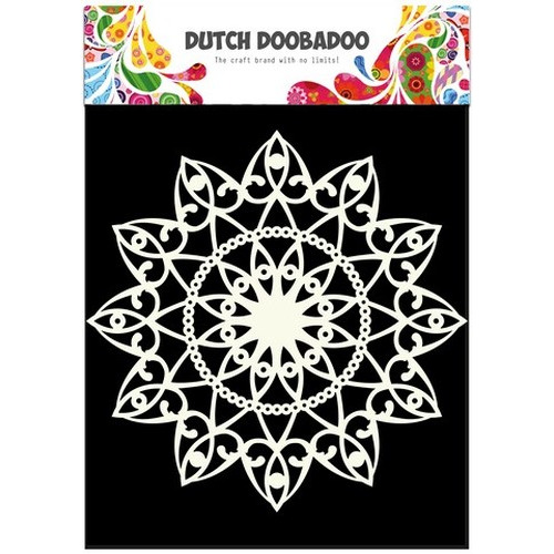 Dutch Doobadoo Dutch Mask Art stencil cirkel A4 470.715.505 (02-16)