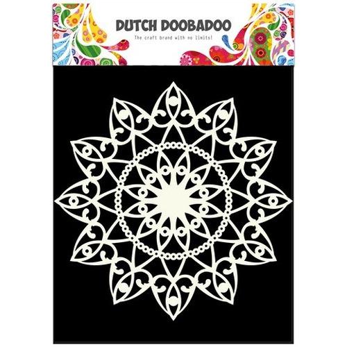 Dutch Doobadoo Dutch Mask Art stencil cirkel A4 470.715.505 (02-16)