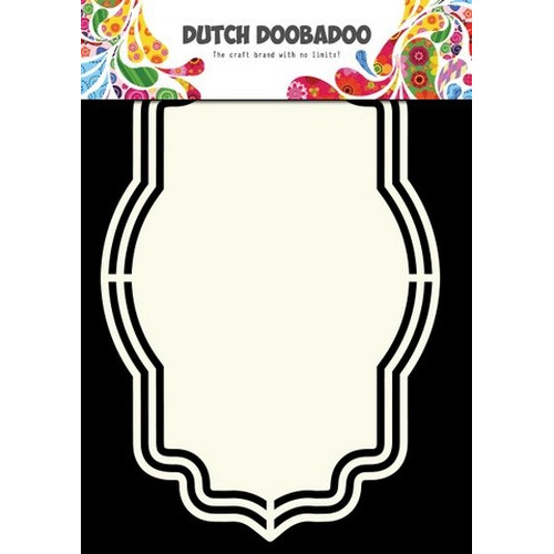 Dutch Doobadoo Dutch Shape Art frames Fantasy A5 470.713.133 (new 02-16)