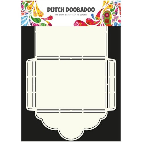 Dutch Doobadoo Dutch Envelop Art Scallop 2 A4 470.713.019 (02-16)