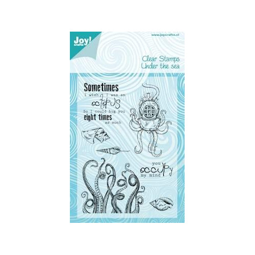 Joy! crafts - Clearstamp - Under the sea - Octopus