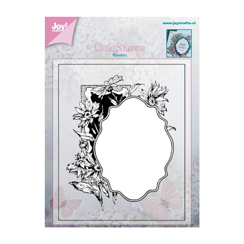 Joy! crafts - Clearstamp - Flowers - Frame