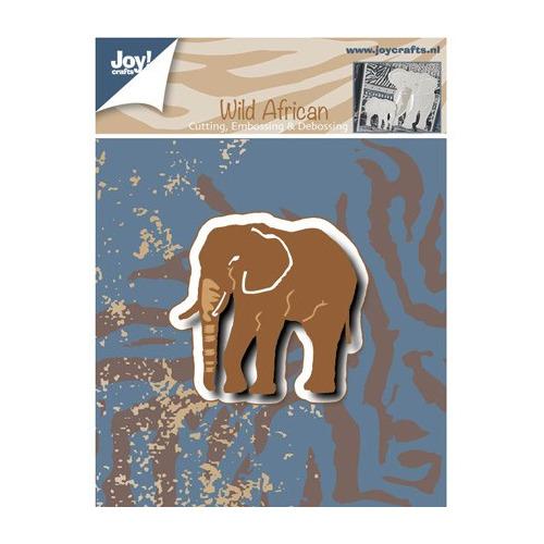 Joy! crafts - Die - Cutting, Embossing & Debossing - Wild African - Olifant